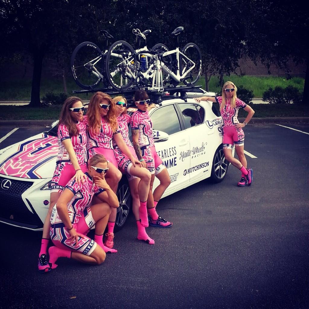 New team fearless femme p b haute wheels racing ossola for Haute wheels