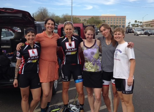 After Team Camp and last day of Valley of the Sun Stage Race